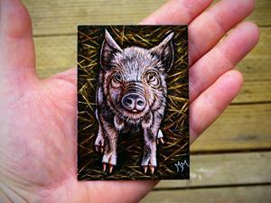 Detail Image for art Piggy  (SOLD)