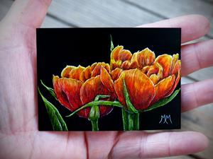 Detail Image for art Tulips  (SOLD)
