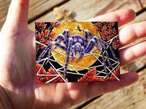 Detail Image for art Halloween Spider