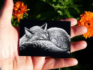 Detail Image for art Steppe Fox