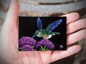 Detail Image for art Hummingbird - SA239