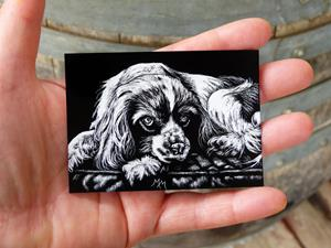 Detail Image for art Spaniel  (SOLD)