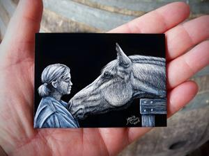 Detail Image for art Love of a Horse