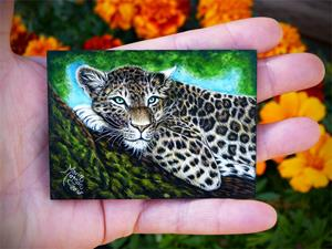 Detail Image for art Leopard  (SOLD)