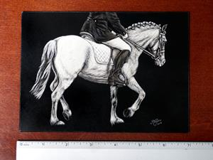 Detail Image for art Dressage Pony  (SOLD)