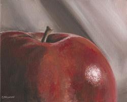 Art: Apple by Artist Aimee L. Dingman