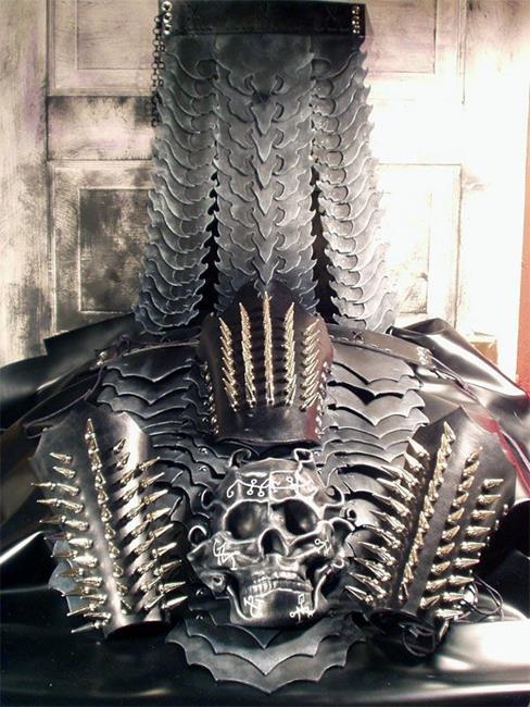 Art: Armor by Artist Barbara Doherty (MidnightZodiac Leather)