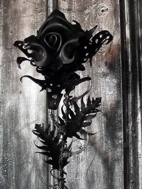 Art: Industrial Warlock by Artist Barbara Doherty (MidnightZodiac Leather)