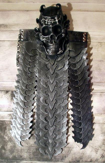 Art: Vulture Skirt by Artist Barbara Doherty (MidnightZodiac Leather)