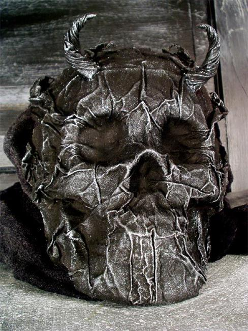 Art: Devil Skull by Artist Barbara Doherty (MidnightZodiac Leather)