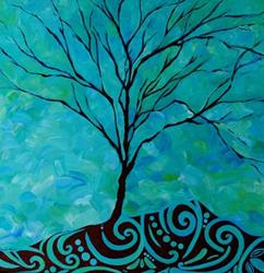 Art: Life of a Tree - SOLD by Artist Dana Marie