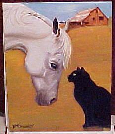 Art: Best Friends by Artist Rosemary Margaret Daunis