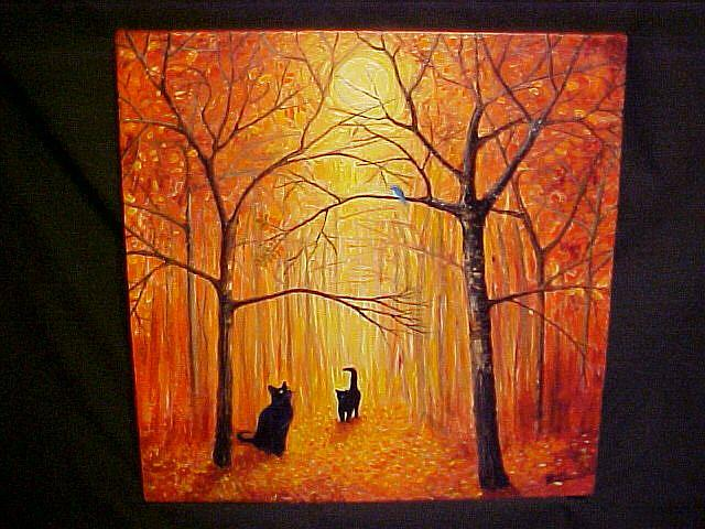 Art: A Day in the Woods by Artist Rosemary Margaret Daunis