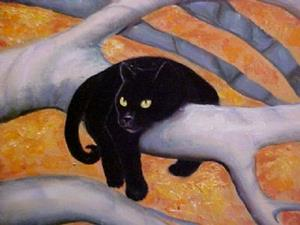 Detail Image for art Autumn Cats