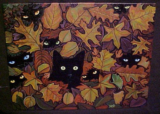 Art: Autumn's Jewels by Artist Rosemary Margaret Daunis