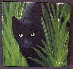 Art: IN THE IRIS GARDEN by Artist Rosemary Margaret Daunis