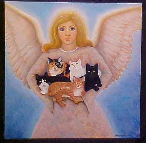 Art: TAKING THEM HOME by Artist Rosemary Margaret Daunis