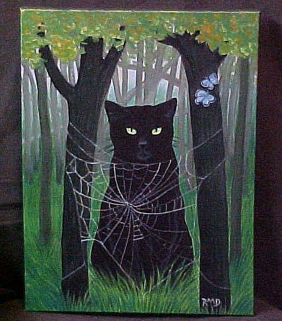 Art: TOO CLOSE FOR COMFORT by Artist Rosemary Margaret Daunis