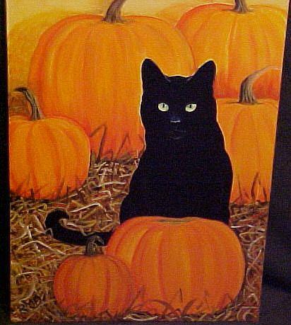 Art: HALLOWEEN by Artist Rosemary Margaret Daunis