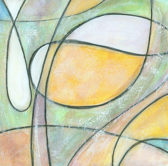 Art: Nebula #3 (sold) by Artist Wendy L. Gonick