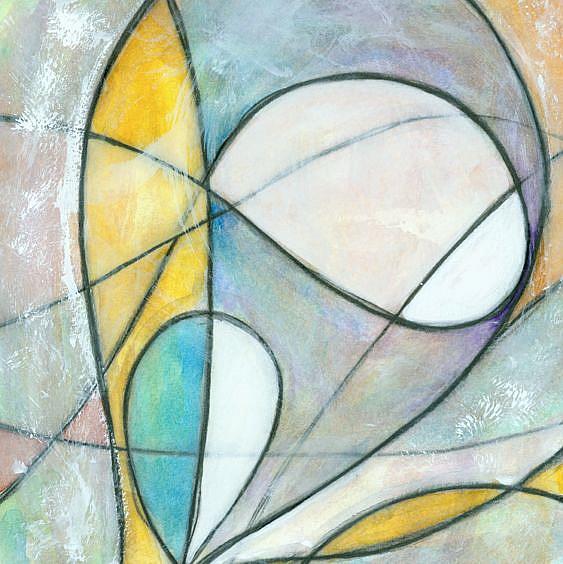 Art: Nebula #6 (sold) by Artist Wendy L. Gonick