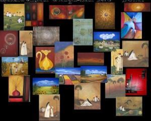 Detail Image for art Tuscany Landscape Collage