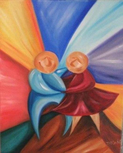 Art: The Dance 2 by Artist Charlene Murray Zatloukal