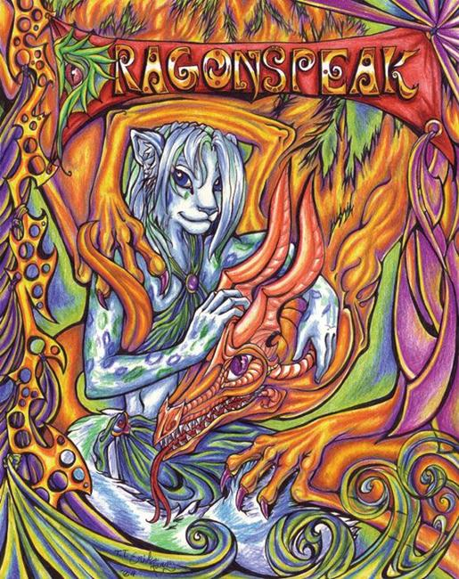 Art: Dragonspeak by Artist Erika