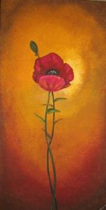 Detail Image for art Tuscan Poppy