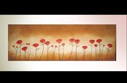 Art: Twenty One Poppies by Artist Charlene Murray Zatloukal