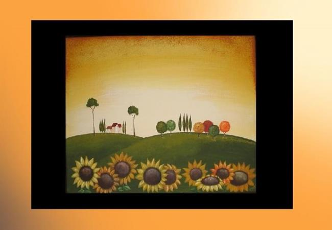 Art: TUSCAN SUNFLOWERS-sold by Artist Charlene Murray Zatloukal