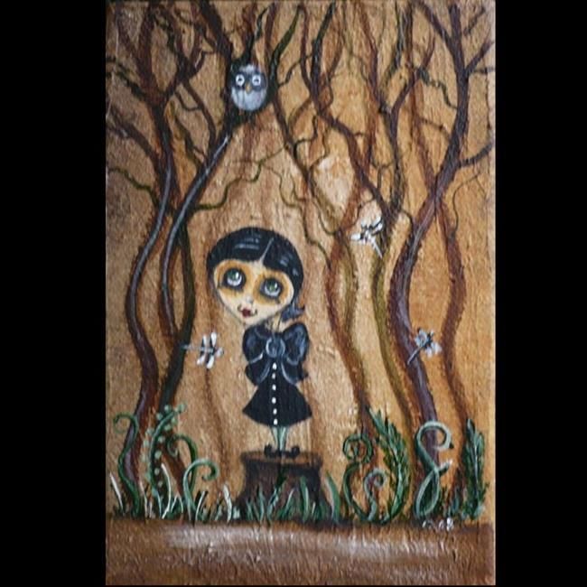 Art: In The Forest by Artist Charlene Murray Zatloukal