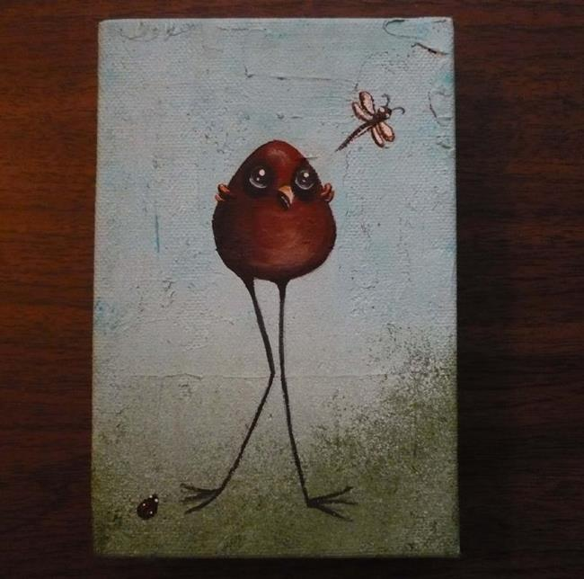 Art: Pecking Order by Artist Charlene Murray Zatloukal