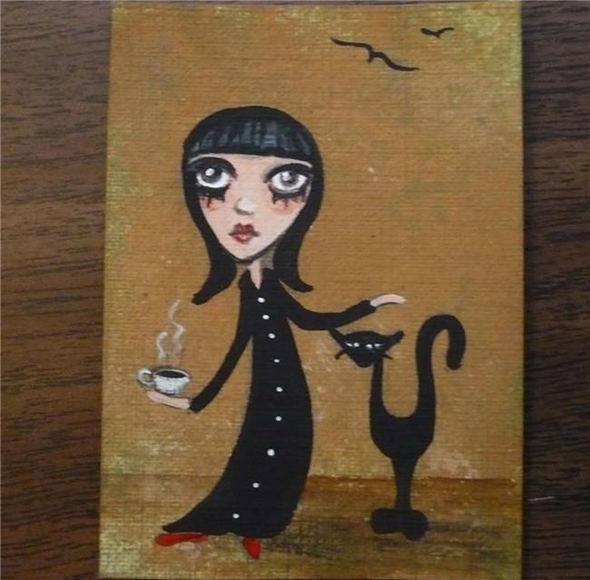 Art: Cup Of Tea by Artist Charlene Murray Zatloukal