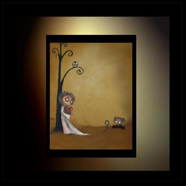 Art: I'll Give It To You by Artist Charlene Murray Zatloukal