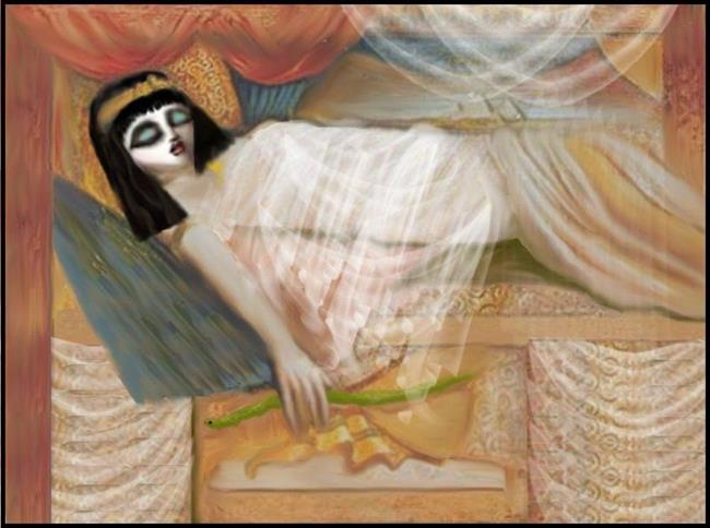 Art: Cleopatra by Artist Charlene Murray Zatloukal