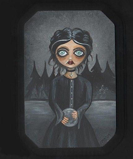 Art: The Necromantic by Artist Charlene Murray Zatloukal