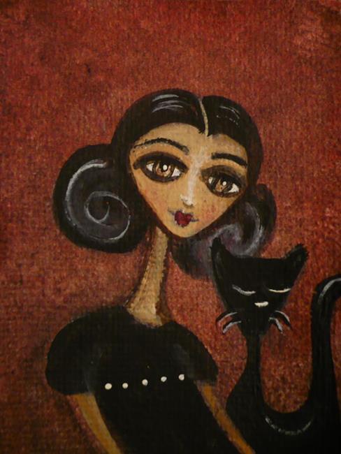 Art: Fade to Black by Artist Charlene Murray Zatloukal