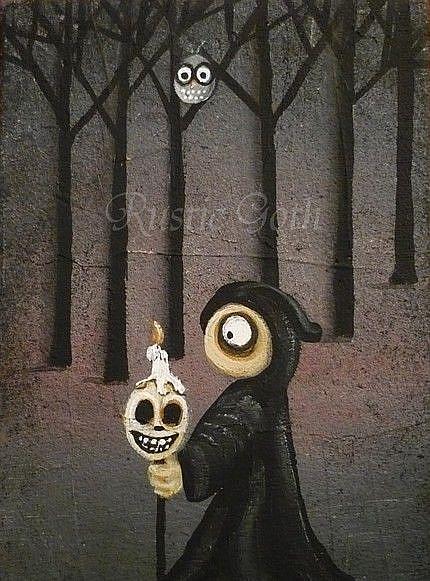 Art: After Midnight by Artist Charlene Murray Zatloukal