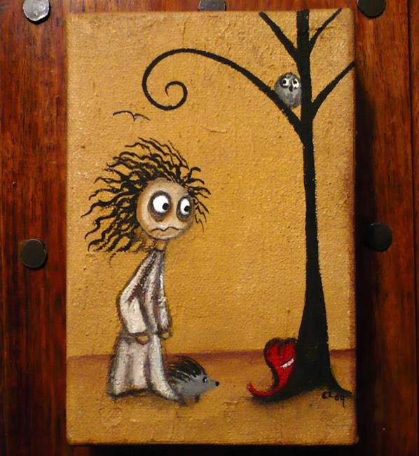 Art: Tales of Another Broken Heart by Artist Charlene Murray Zatloukal