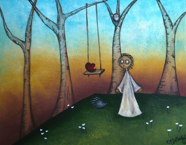 Art: A Playful Heart by Artist Charlene Murray Zatloukal