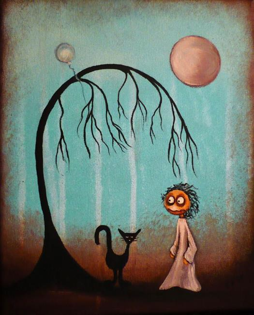 Art: Trouble Is by Artist Charlene Murray Zatloukal