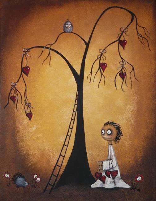 Art: Tree of Hearts by Artist Charlene Murray Zatloukal