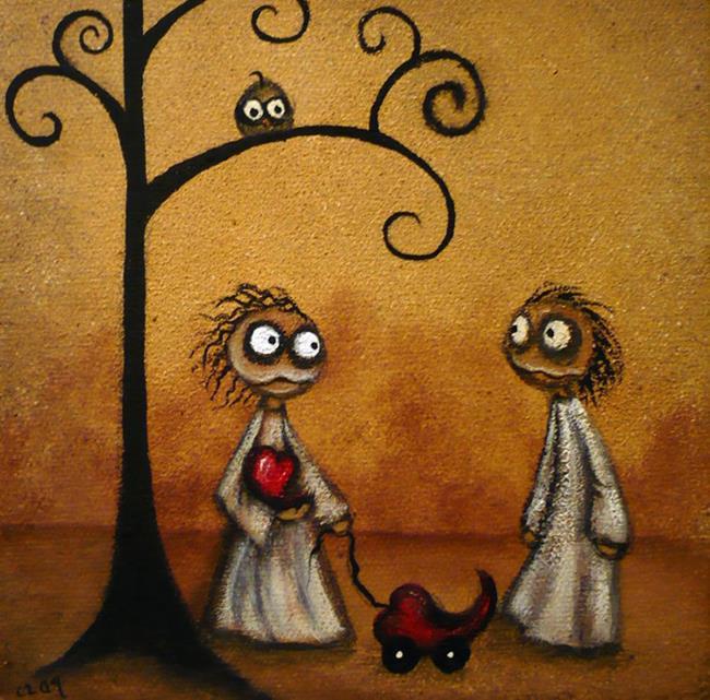 Art: Epiphany by Artist Charlene Murray Zatloukal