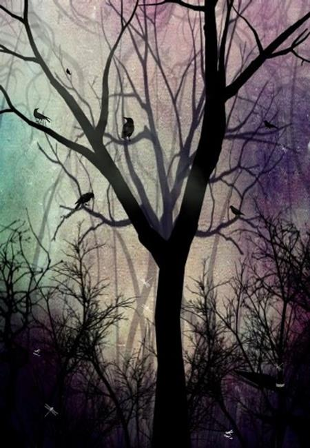 Art: After Twilight by Artist Charlene Murray Zatloukal