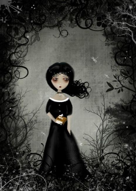 Art: Gloomy Sunday by Artist Charlene Murray Zatloukal