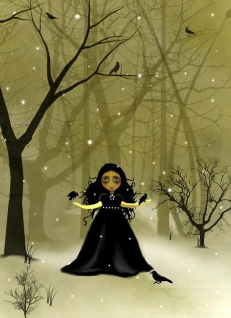 Art: RavenWood by Artist Charlene Murray Zatloukal