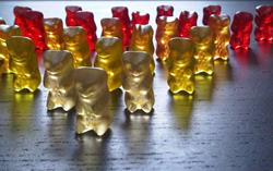 Art: Gummi Bear Army by Artist Jenny Doss