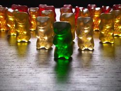 Art: When gummi bears attack... by Artist Jenny Doss