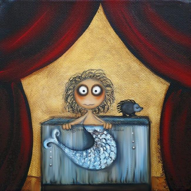 Art: FeeJee Mermaid by Artist Charlene Murray Zatloukal